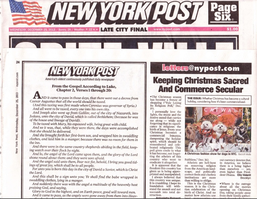 Anthony Rubio Designs in the New York Post