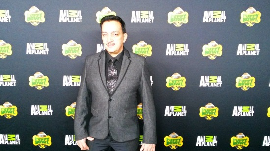 Anthony Rubio attends Animal Planet's VIP Puppy Bowl Party