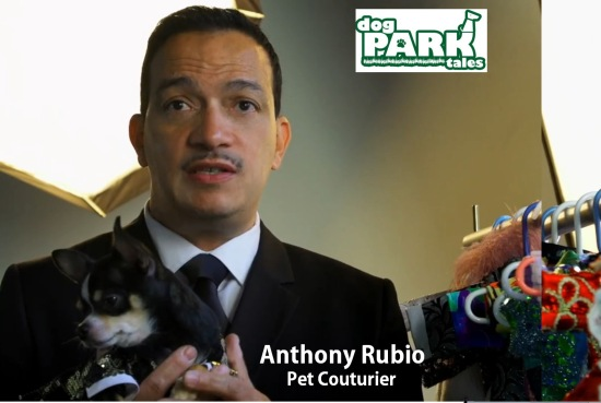 Anthony Rubio hosts Dog Park Tales TV Show
