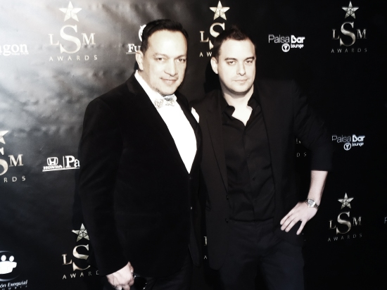 Anthony Rubio and Andre Marcel attend The 2nd Annual Latino Show Magazine Awards