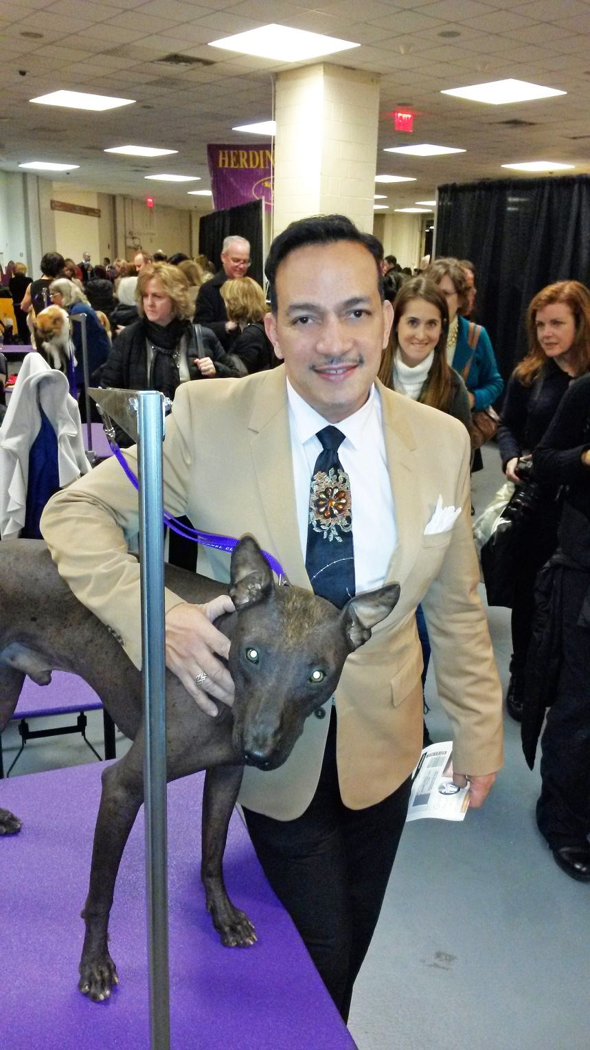 Anthony Rubio at The 138th Westminster Kennel Club Dog Show