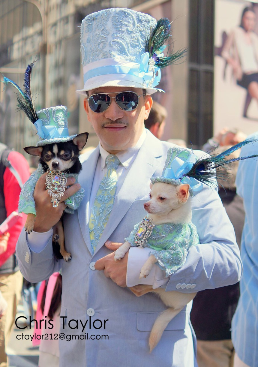 Anthony Rubio at 2014 Easter Parade and Bonnet Festival in New York