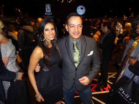 Anthony Rubio and RuPal Patel attend FTL Moda + Art Hearts Fashion