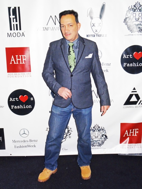 Anthony Rubio attends FTL Moda + Art Hearts Fashion