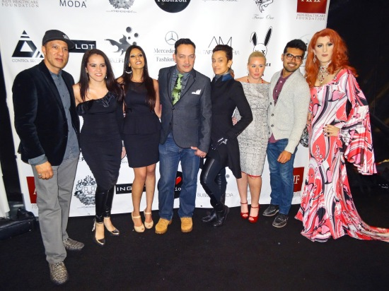 Anthony Rubio and guests attend FTL Moda + Art Hearts Fashion