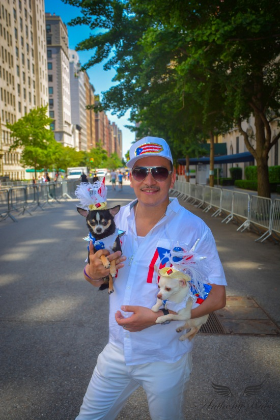 Anthony Rubio at the 57th Annual National Puerto Rican Day Parade
