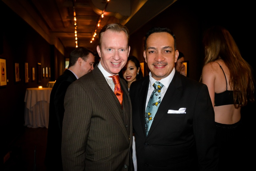 Anthony Rubio attends FashionSpeaks The Art of Modeling at the National Arts Club in NYC