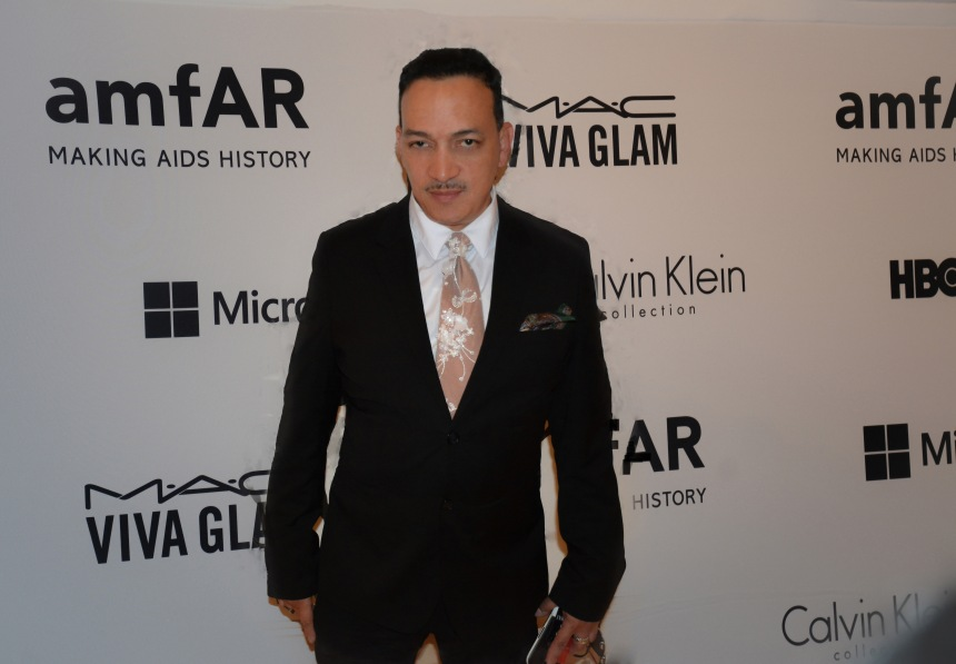 Anthony Rubio attends 2014 amfAR Inspiration Gala at The Plaza Hotel