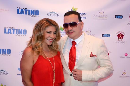 Anthony Rubio attends Red Theme Birthday Celebration of Karen Hoyos