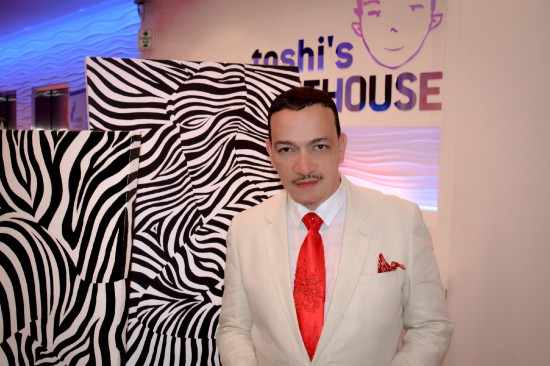 Anthony Rubio attends Red Theme Birthday Celebration of Karen Hoyos