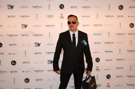 Anthony Rubio attends Ricardo Seco's Fashion Show for Mercedes-Benz Fashion Week