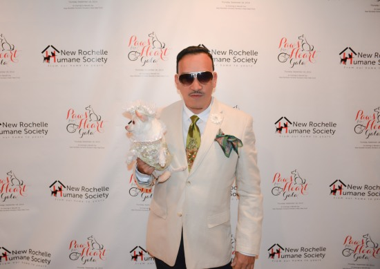 Anthony Rubio attends New Rochelle Humane Society's Paws For A Heart 2014 Gala