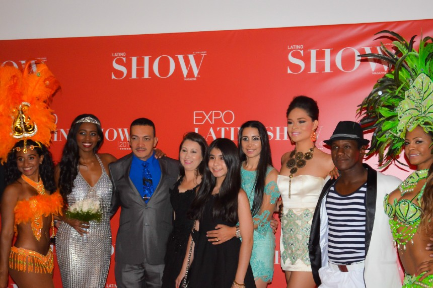 Anthony Rubio and guests attend Expo-LatinoShow 2014 at the Queens Museum