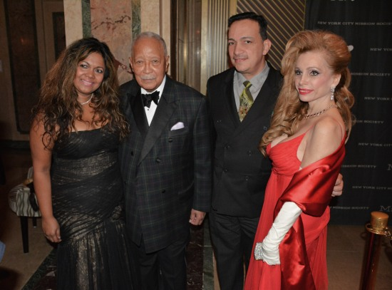 Anthony Rubio attends New York Mission Society's 2014 Champion for Children Gala