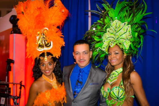 Anthony Rubio attends Expo-LatinoShow 2014 at the Queens Museum