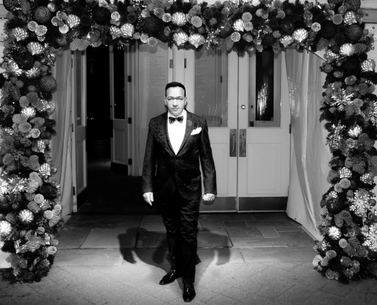 Anthony Rubio attends 16th Annual Winter Wonderland Ball at the The New York Botanical Garden
