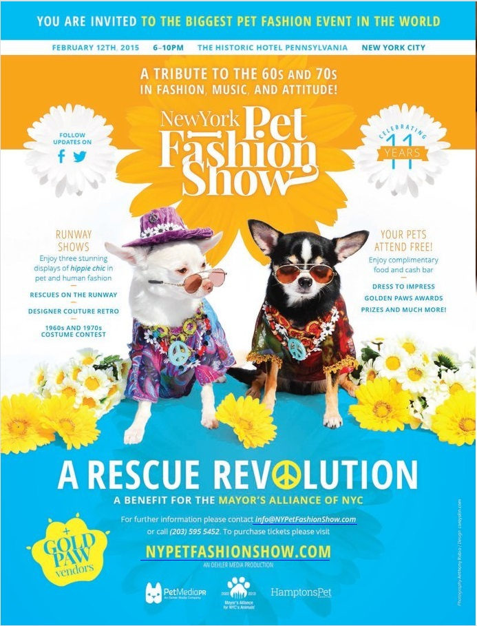 2015 New York Pet Fashion Show February 12th, 2015,