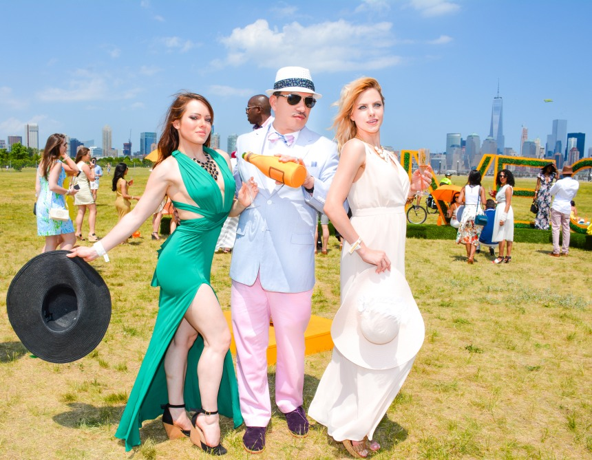 Anthony Rubio attends The Eighth-Annual Veuve Clicquot Polo Classic