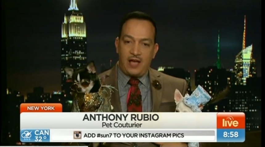 Anthony Rubio's Interview on Australia's morning show Sunrise