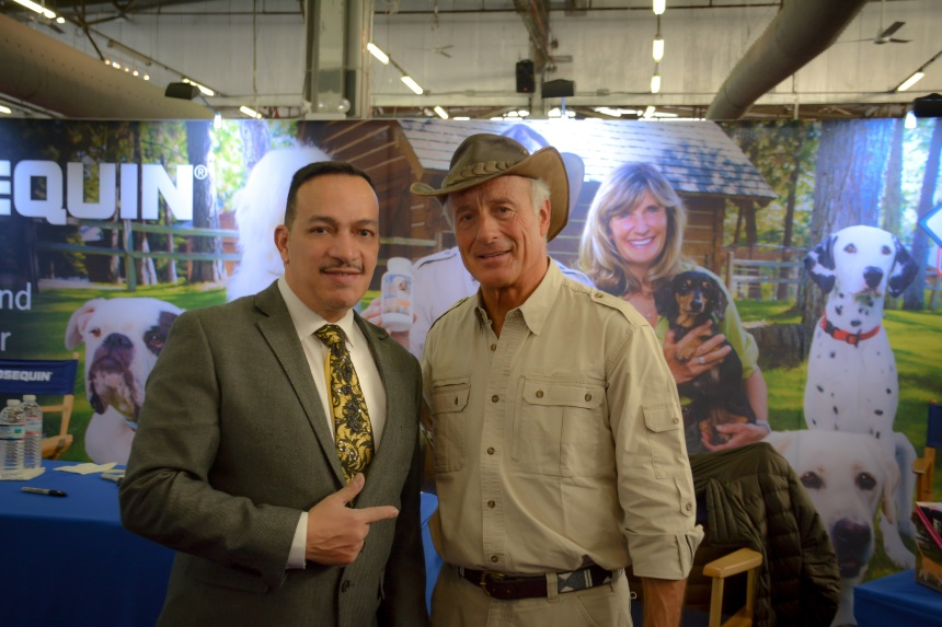 Anthony Rubio and Jack Hanna at the 139th Westminster Kennel Club Dog Show at Madison Square Garden in New York City
