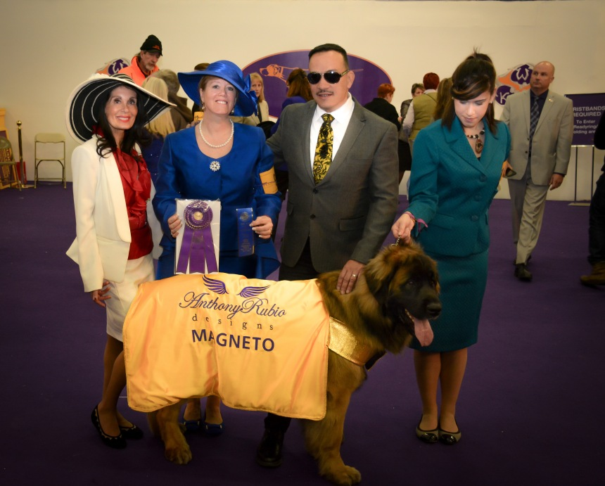 Anthony Rubio attends the 139th Westminster Kennel Club Dog Show at Madison Square Garden in New York City