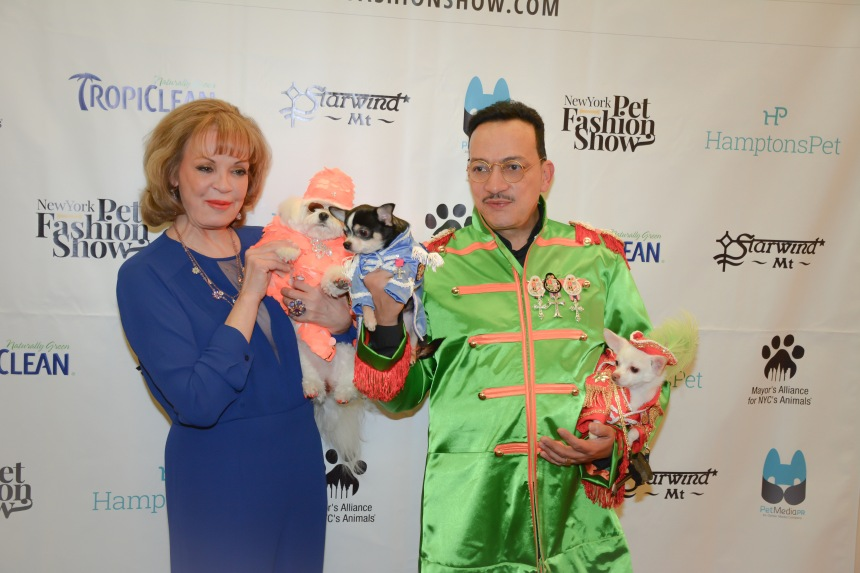 Anthony Rubio attends the 2015 New York Pet Fashion Show at the Hotel Pennsylvania