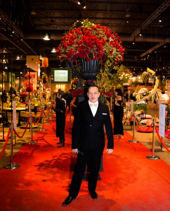 Anthony Rubio attends 2015 Flower Show Black Tie Preview Gala