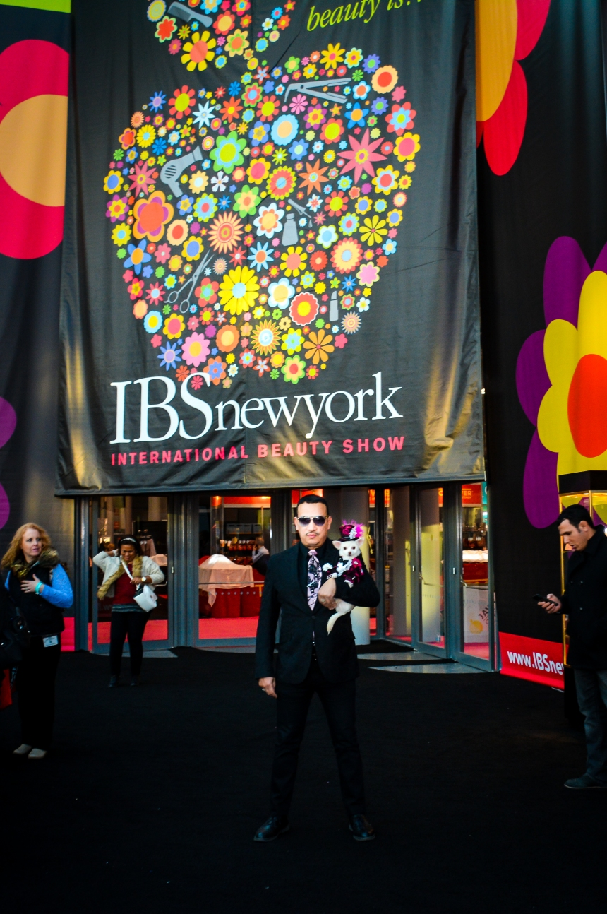 Anthony Rubio Visits the 2015 International Beauty Show New York
