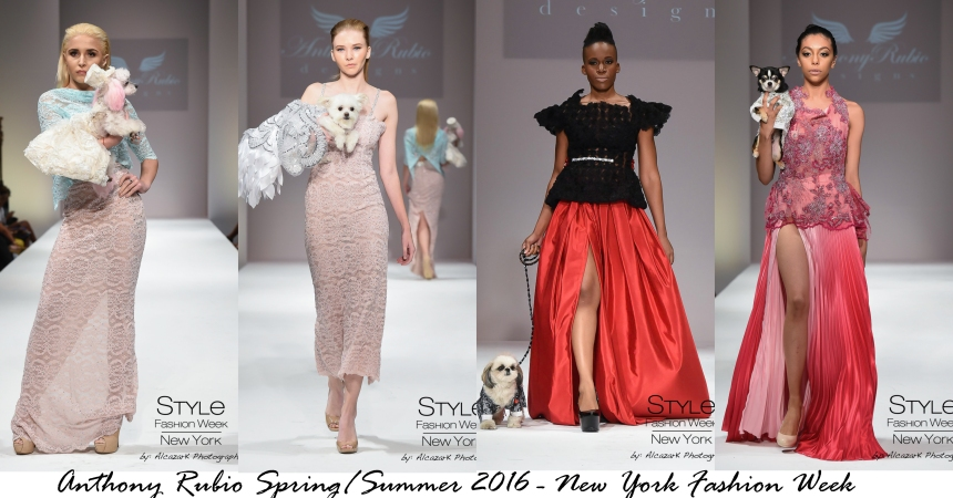 Anthony Rubio Spring/Summer 2016 - New York Fashion Week
