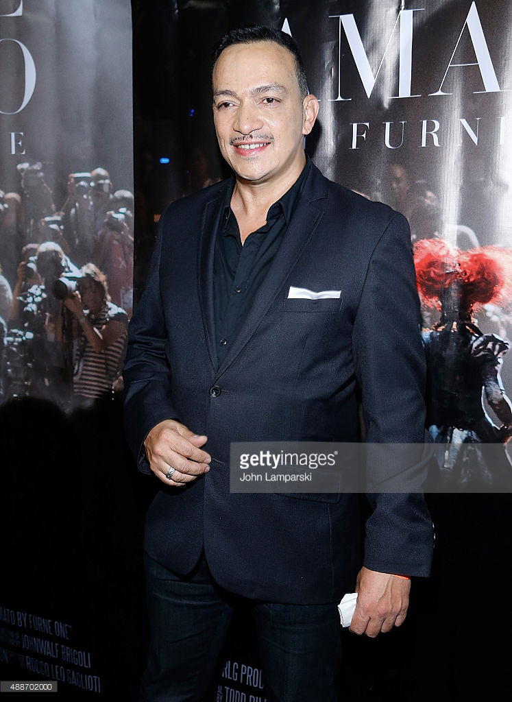 """Anthony Rubio attends """"Inside Amato"""" New York Premiere at Liberty Theater"""