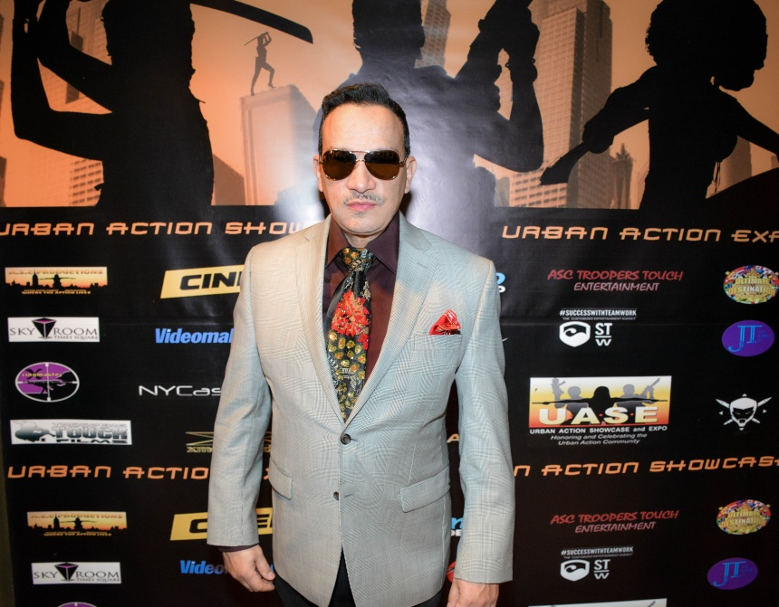 "Anthony Rubio  at the premiere of a documentary film ""Legends of Freestyle"""
