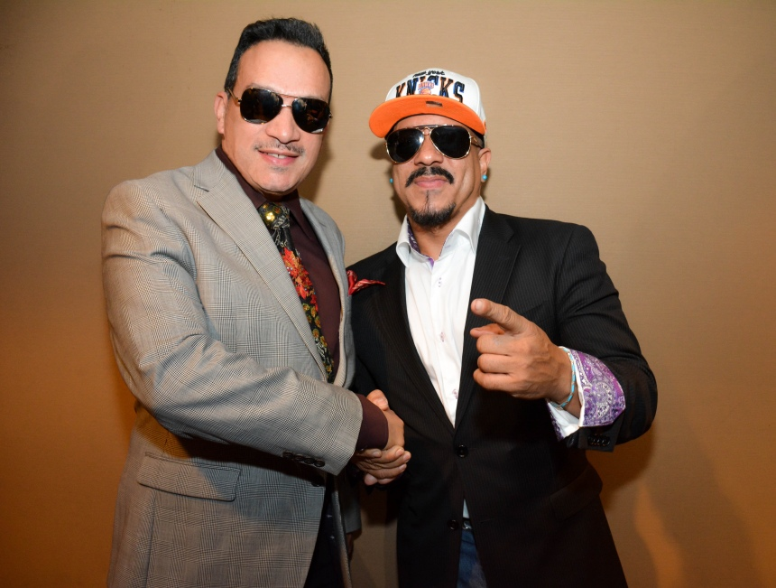 "Anthony Rubio, Freedom Williams at the premiere of a documentary film ""Legends of Freestyle"""