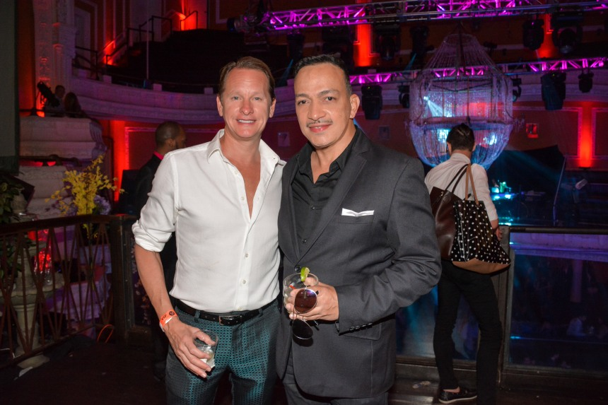 "Anthony Rubio, Carson Kressley at ""Inside Amato"" New York Premiere at Liberty Theater"