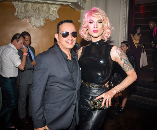 "Anthony Rubio, Miss Fame at ""Inside Amato"" New York Premiere at Liberty Theater"