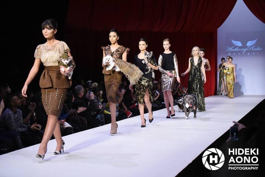 Anthony Rubio Fall/Winter 2016 - New York Fashion Week Women's Wear & Canine Couture Gotham Hall Photo by: Hideki Aono
