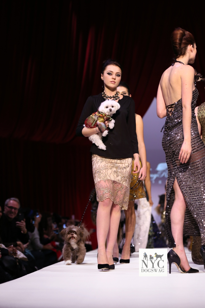 Anthony Rubio Fall/Winter 2016 - New York Fashion Week Women's Wear & Canine Couture Gotham Hall Photo by: Jason Howard