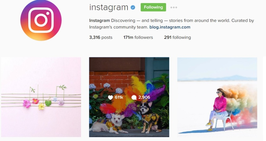 Anthony Rubio Designs Featured on Instagram's Official Account
