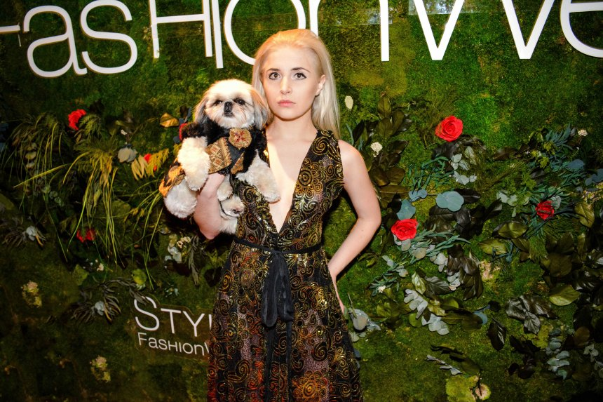 Anthony Rubio Fall/Winter 2016 - New York Fashion Week Women's Wear & Canine Couture Red Carpet at Gotham Hall