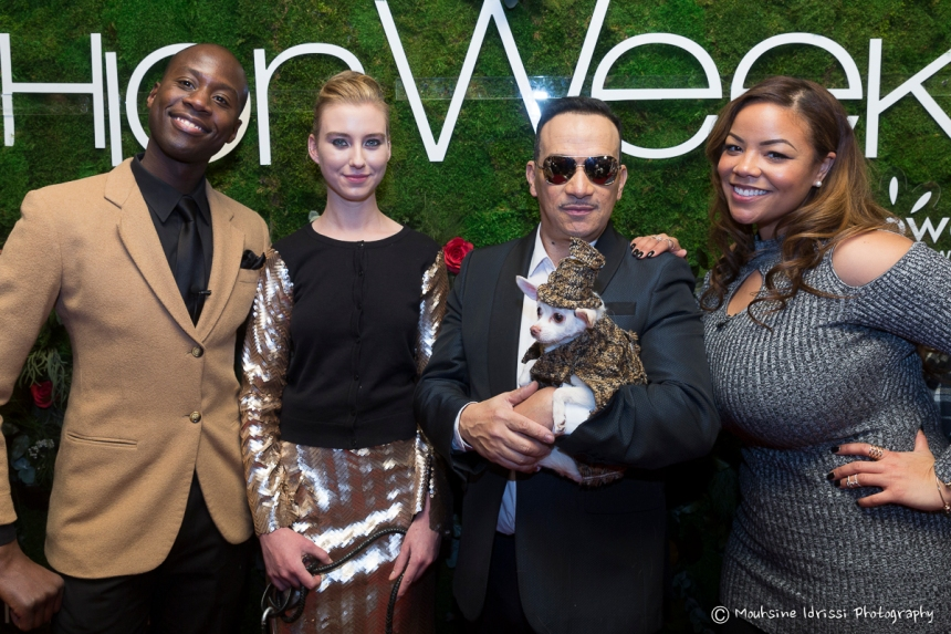 Anthony Rubio Fall/Winter 2016 - New York Fashion Week  Women's Wear & Canine Couture Red Carpet at Gotham Hall Photo by Mouhsine Idrissi Janati