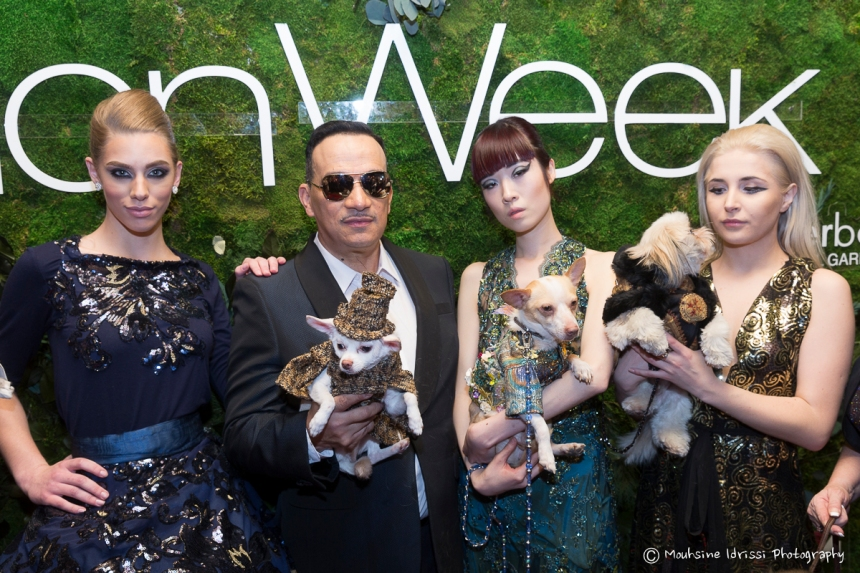 Anthony Rubio Fall/Winter 2016 - New York Fashion Week  Women's Wear & Canine Couture Red Carpet at Gotham Hall Photo by Mouhsine Idrissi Janati