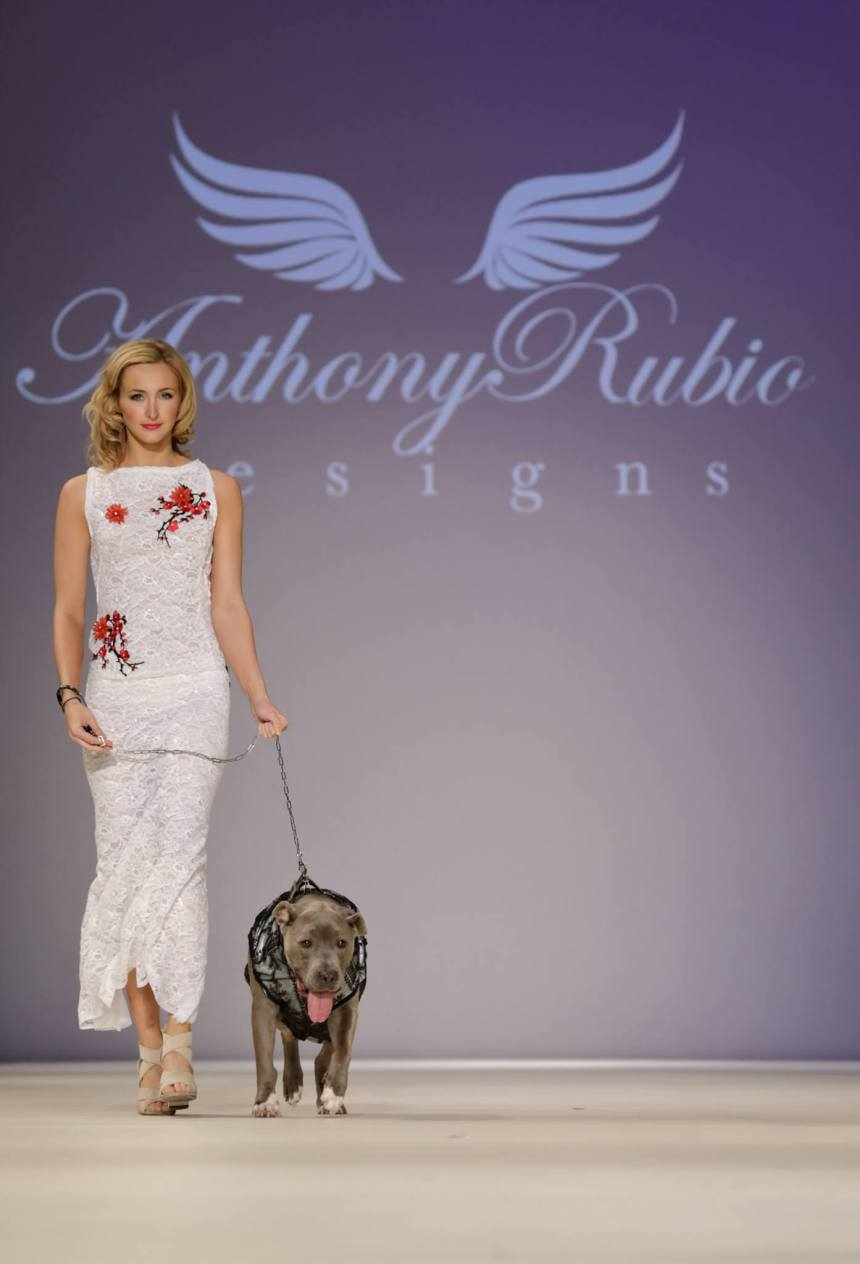 Anthony Rubio Spring/Summer 2017 New York Fashion Week held at Hammerstein Ballroom Photo by Mouhsine Idrissi Janati