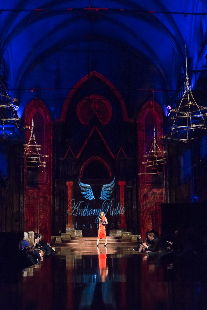 Anthony Rubio Fall/Winter 2017 New York Fashion Week held at Angel Orensanz Center Photo by Mouhsine Idrissi Janati
