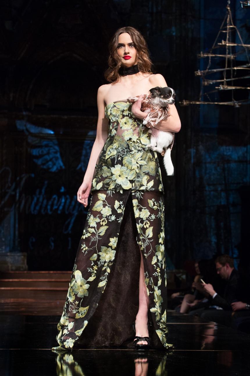 Anthony Rubio Fall/Winter 2017 New York Fashion Week held at Angel Orensanz Center Photo by Mouhsine Idrissi Janati