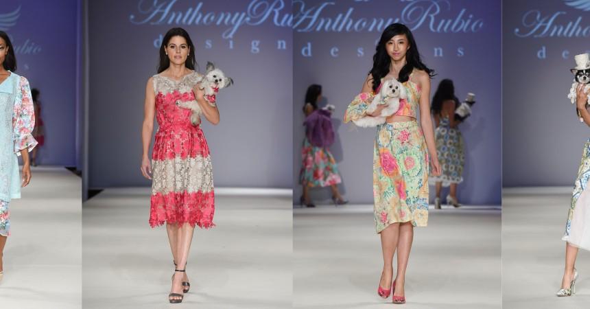 Anthony Rubio Spring/Summer 2017 New York Fashion Week held at Hammerstein Ballroom
