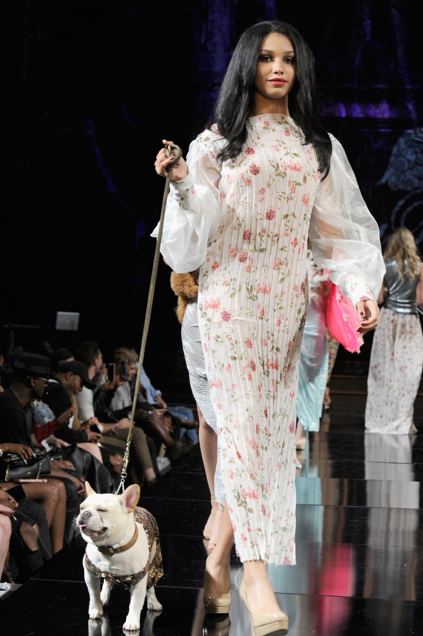 Anthony Rubio Spring/Summer 2018 Women's Wear & Canine Couture New York Fashion Week Photo by Arun Nevader - Getty Images