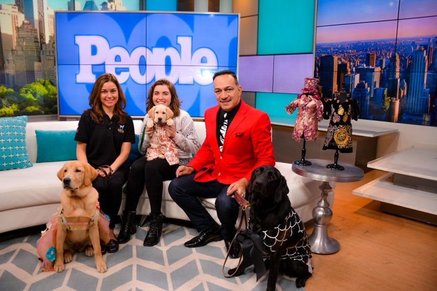 Anthony Rubio talked Pet Fashion on People Magazine's PEOPLE Pets Live show