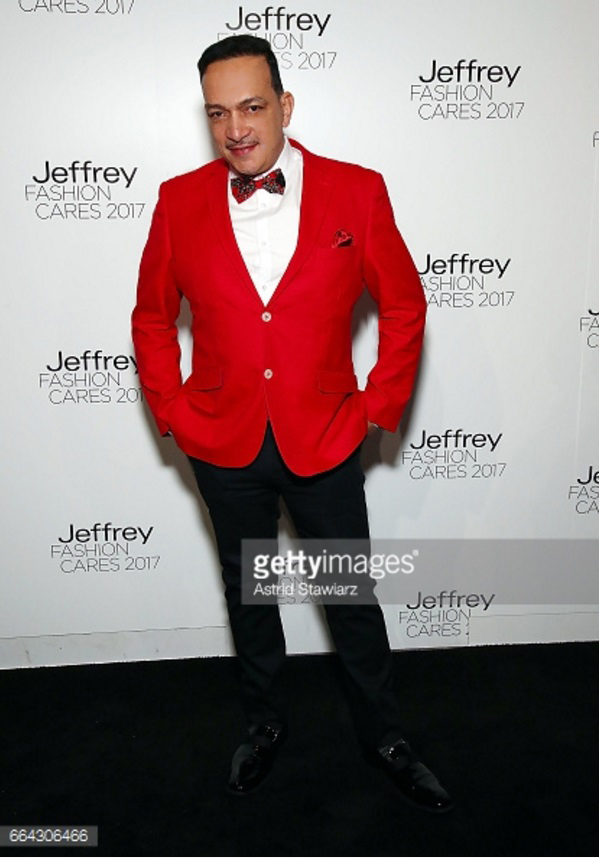Anthony Rubio attends the 14th Annual Jeffrey Fashion Cares