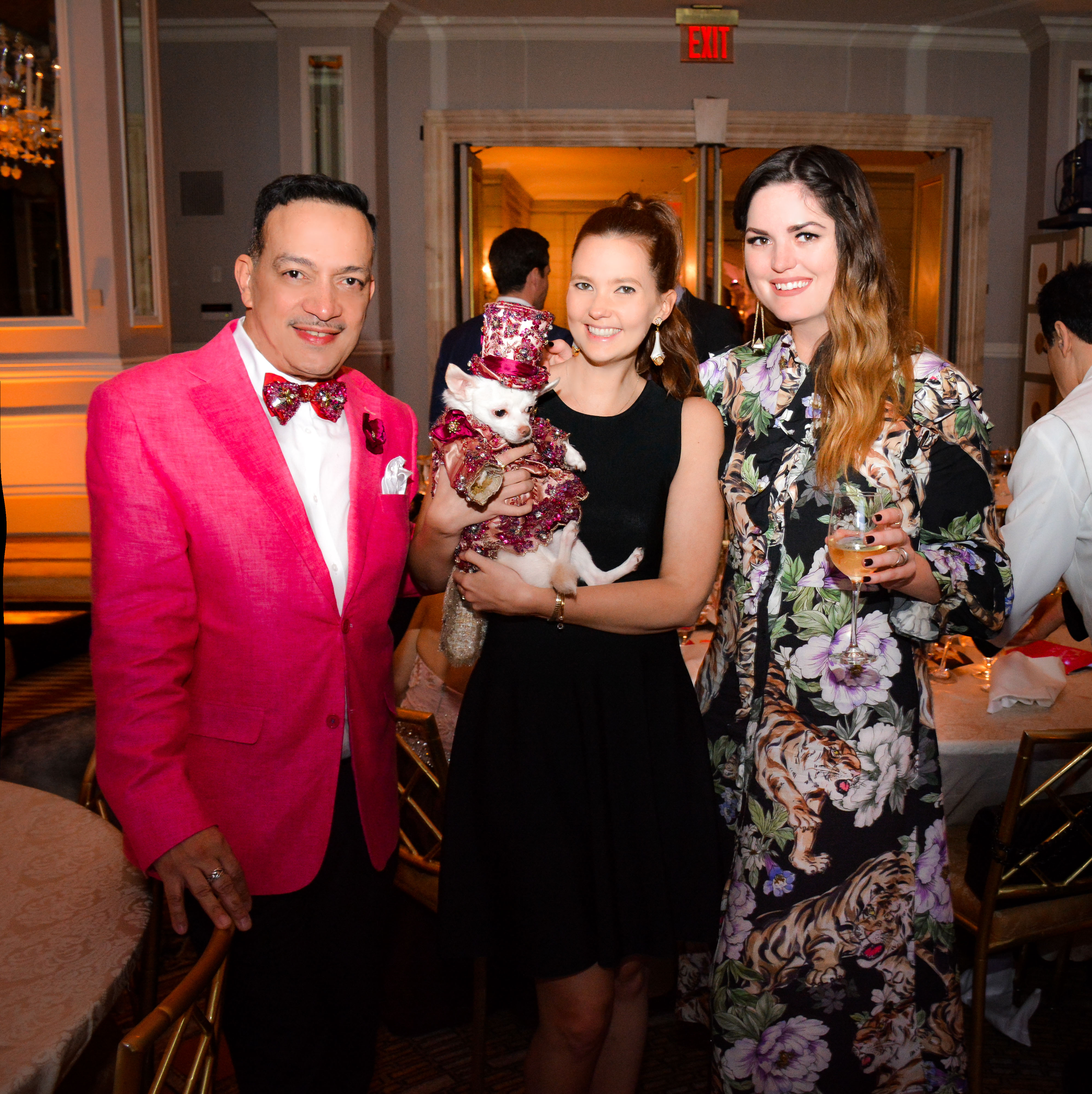 Anthony Rubio attends The 2017 Bideawee Ball held at The Pierre, A Taj Hotel, New York.
