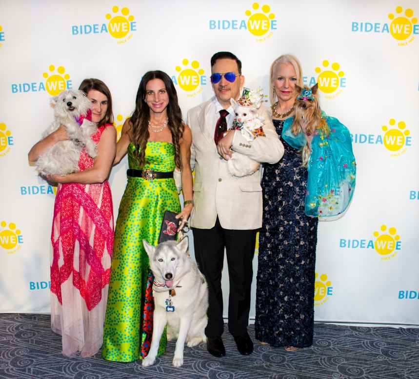 Anthony Rubio with Chihuahua Kimba attends the 2019 Bideawee Ball in New York