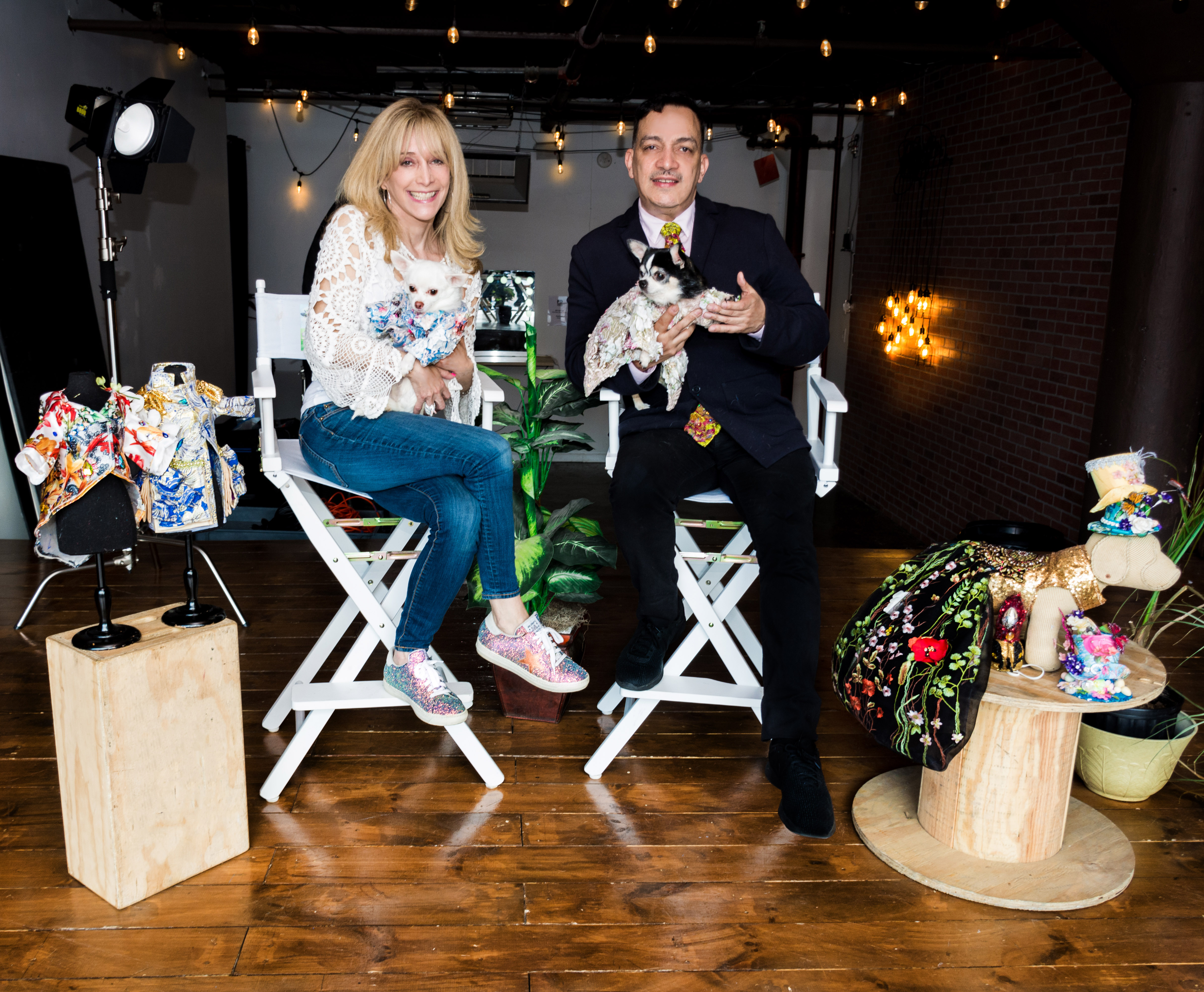 Anthony Rubio's interview with Lauren Collier for new TV show - Dog Fashion